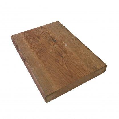 1 m² de Terrasse en pin du nord US vert autoclave 145 x 27 mm
