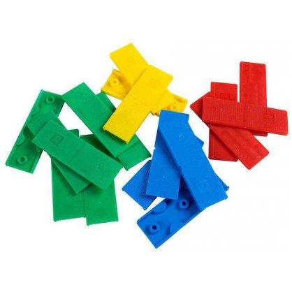 60 Cales crantées réglables 8-12 mm