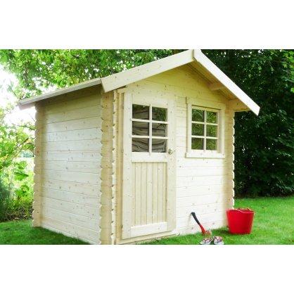 Abri de jardin 28 mm LAVAL 238x198 cm - 4,71 m²