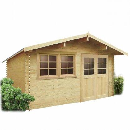 abri de jardin solid niort s8308 idea bois nicolas. Black Bedroom Furniture Sets. Home Design Ideas