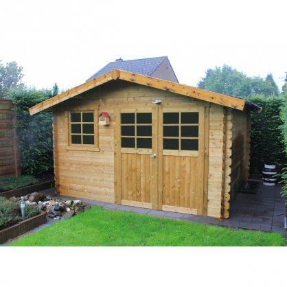 Abri de jardin traité 28mm Chimay 358 x 298cm 10,67 m²