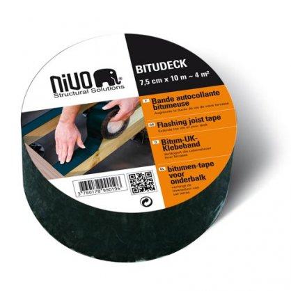 Bande bitumeuse Bitudeck 7,5 cm x 10 m Fiberdeck