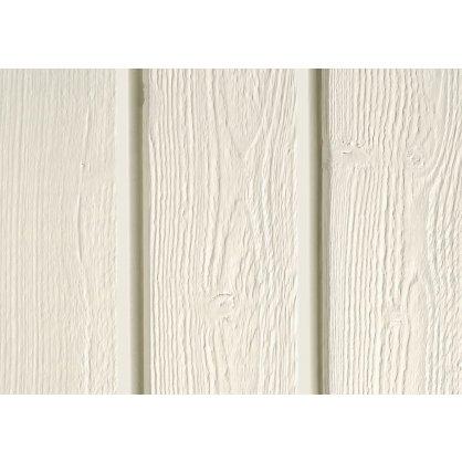 Bardage bois Silverwood 4,15 m Extra blanc Profil ONTARIO