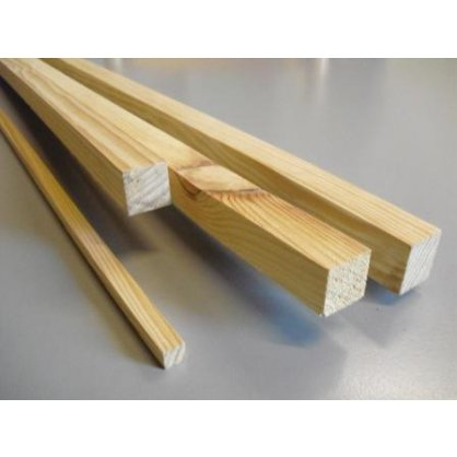 Carrelet en pin 40x40 mm longueur 2,00 m