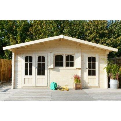 Chalet jardin en bois 40 mm ROSTOCK 22,04 m²