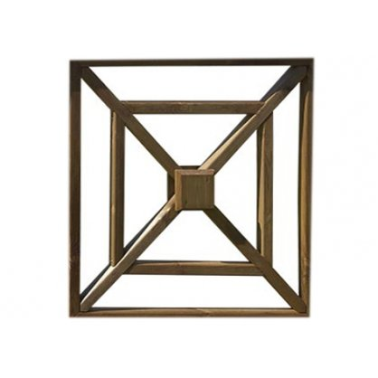 vente palissade bois en kit croix de saint andr kits. Black Bedroom Furniture Sets. Home Design Ideas