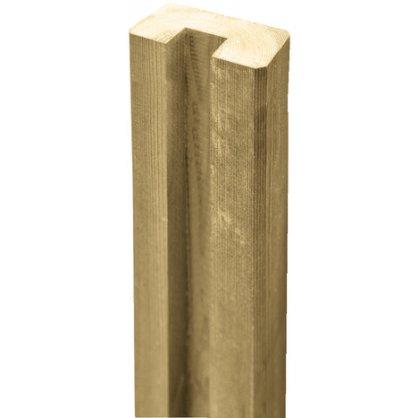 Demi-poteau bois autoclave 200 x 90 x 4,5 cm