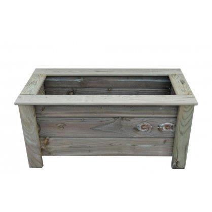 Jardinière bois autoclave 100 x 40 cm