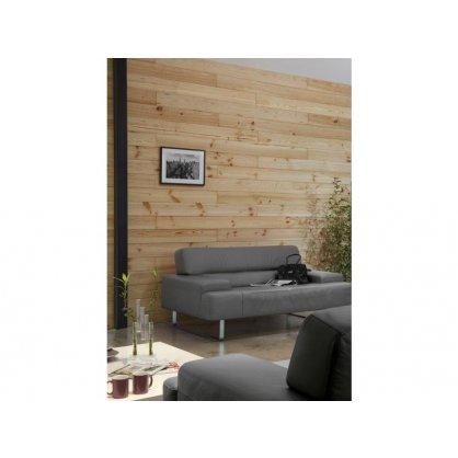Lambris petit noeud mouchette 70x10 mm L. 2,00 m en pin
