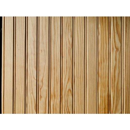 Lambris pin sand noeud double mouchette 70x10 mm L. 2,00 m