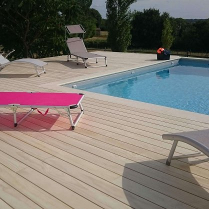 Lame de terrasse ACCOYA 3000 x 120 x 21 mm