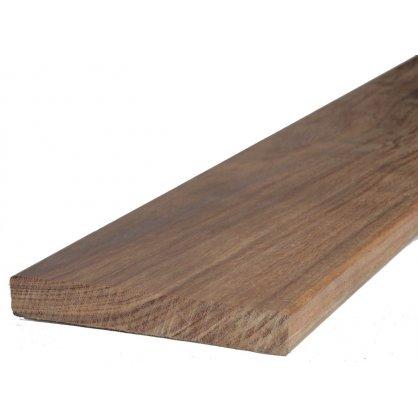Lame de terrasse en cumaru 2450 x 145 x 21 mm