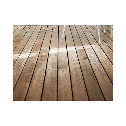 Lame terrasse pin Cl4 vert 90x22 mm Long. 2,00 m