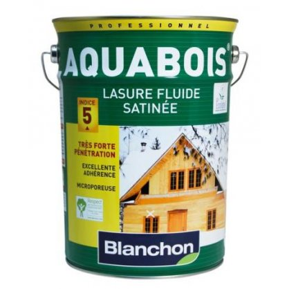 Lasure Aquabois Nature 5L Blanchon