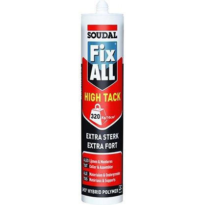 Mastic Fix All High Tack blanc 290ml SOUDAL