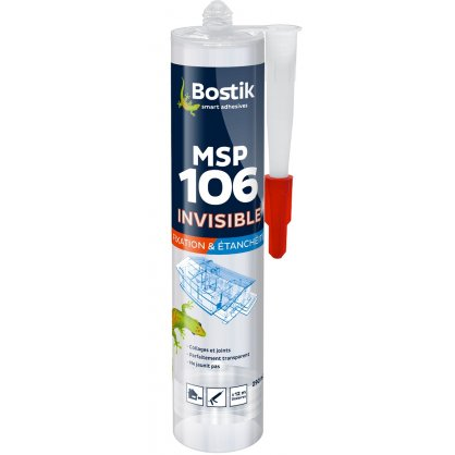 Mastic MSP 106 Invisible 290 ml Bostik