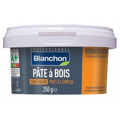 Pâte à bois 250g PIN Blanchon pour fissures fines