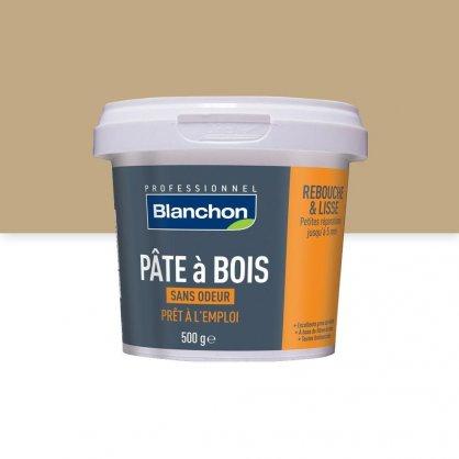 Pâte à bois 500g PIN Blanchon pour fissures fines