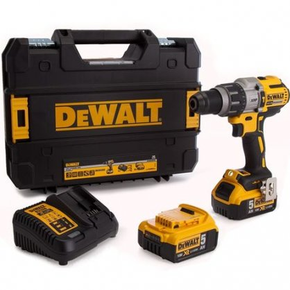 Perceuse visseuse percussion 18V 5Ah DCD996P2 Dewalt