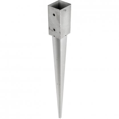 Pied de poteau 9x9 cm PPJET