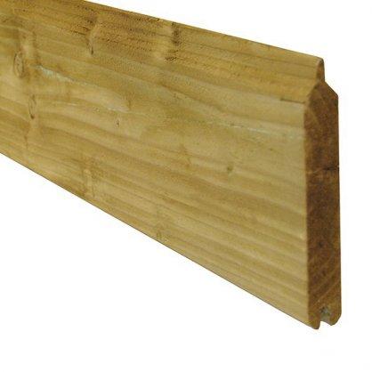 Planche de clôture bois autoclave 2,40 m