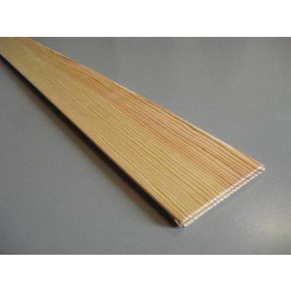 Plinthe en pin sans noeud 2000x100x10 mm