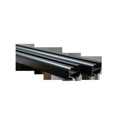 Poteau aluminium 2,30 m pour clôture composite Evoluclos