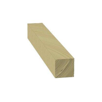 Poteau bois autoclave 12x12 Long. 1,00 m