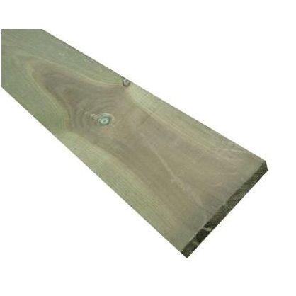 Retenue de terre 2400x90x27 mm en pin classe 4