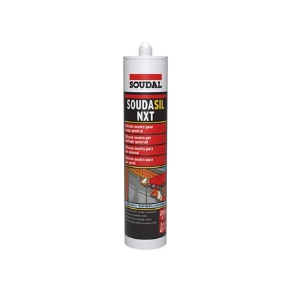 Silicone Soudasil NXT transparent 300 ml SOUDAL