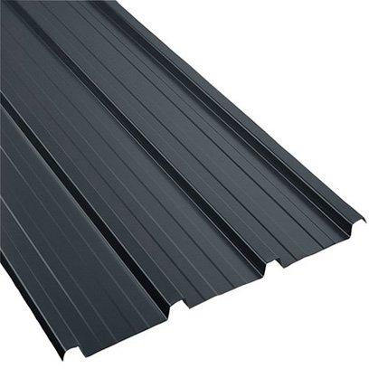 Tôle Bacacier de couverture 2000x1000 mm gris anthracite