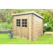 Abri en bois STENDAL 4,91 m² S8605 - 248x198 cm