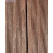 Bois de terrasse brun 2400x145x22 mm strié autoclave
