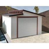 Garage 28 mm Torino 20,88 m² - porte motorisée - 570 x 360 cm