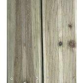 Lame de terrasse pin strié 2400x145x22 mm autoclave