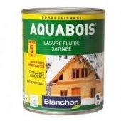 Lasure satinée Aquabois - Chêne moyen - 1L