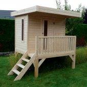 Maisonnette toit plat Modern 180 x 180 cm