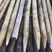Tuteur bois autoclave ⌀ 4 à 6 cm long. 2,00 m