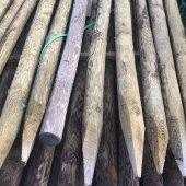 Tuteur bois autoclave ⌀ 6 à 8 cm long. 2,00 m