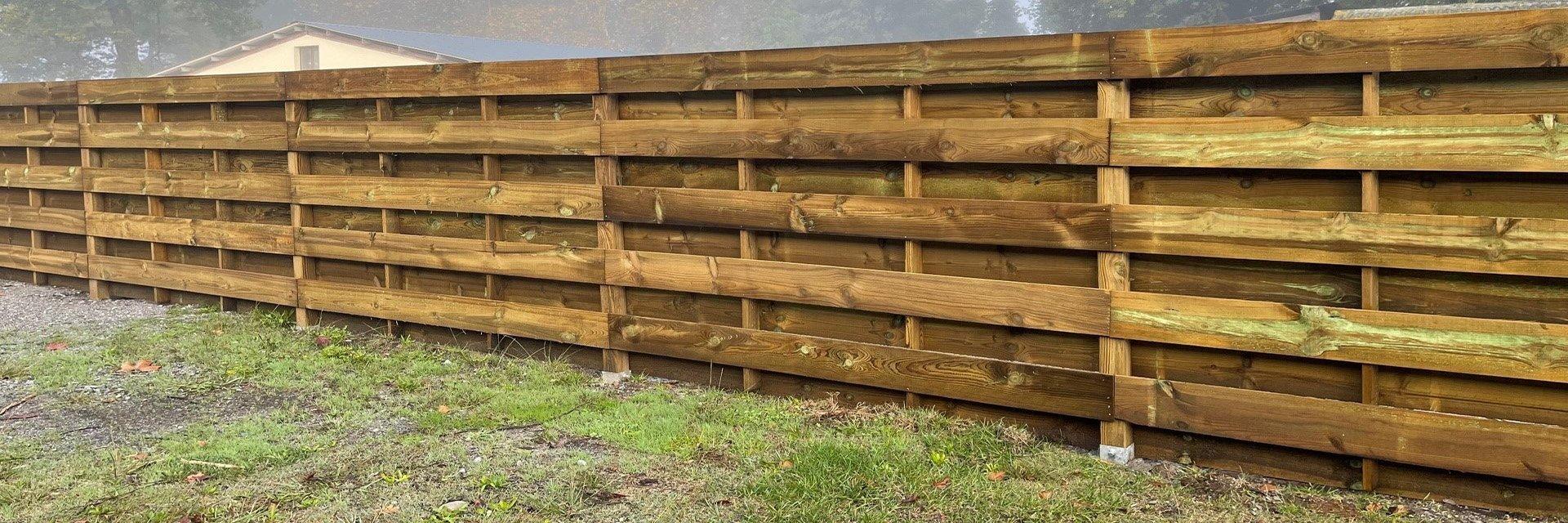 Mur De Soutenement En Bois Autoclave : en bois autoclave pour barri?re chevaux rev?tement mural bois