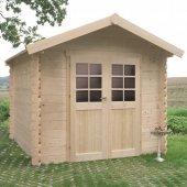 Abri de jardin bois NIMES 238 x 238 cm - 5,66 m²