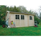 Abri jardin 28 mm PASSAGE 418x298cm 12,46 m²