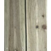 Bois de terrasse pin Cl4 tradition Huchet  2400 x 145 x 22 mm