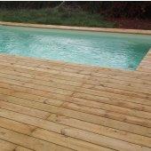 Kit terrasse 20m² TRADITION en pin Cl4 lisse