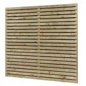Panneau pare-vue en bois autoclave Strada