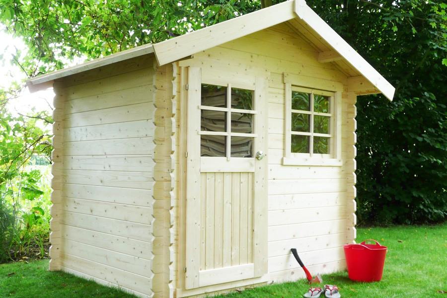 abri de jardin en bois autoclave laval idea bois nicolas. Black Bedroom Furniture Sets. Home Design Ideas