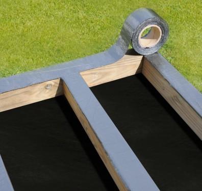 bande bitumeuse pour lambourdes terrasse idea bois nicolas. Black Bedroom Furniture Sets. Home Design Ideas
