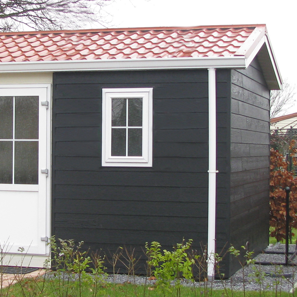 Bardage en bois noir bardage canexel ridgewood bne for Revetement exterieur de maison