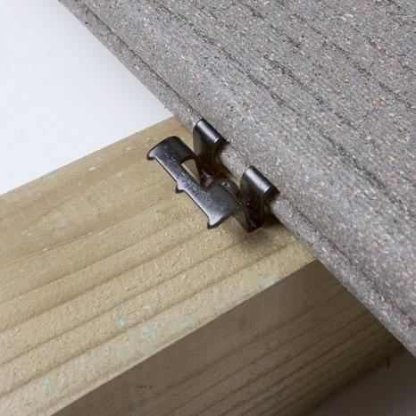 Clips invisibles cobra pour terrasse bois composite idea - Bois composite pour terrasse ...