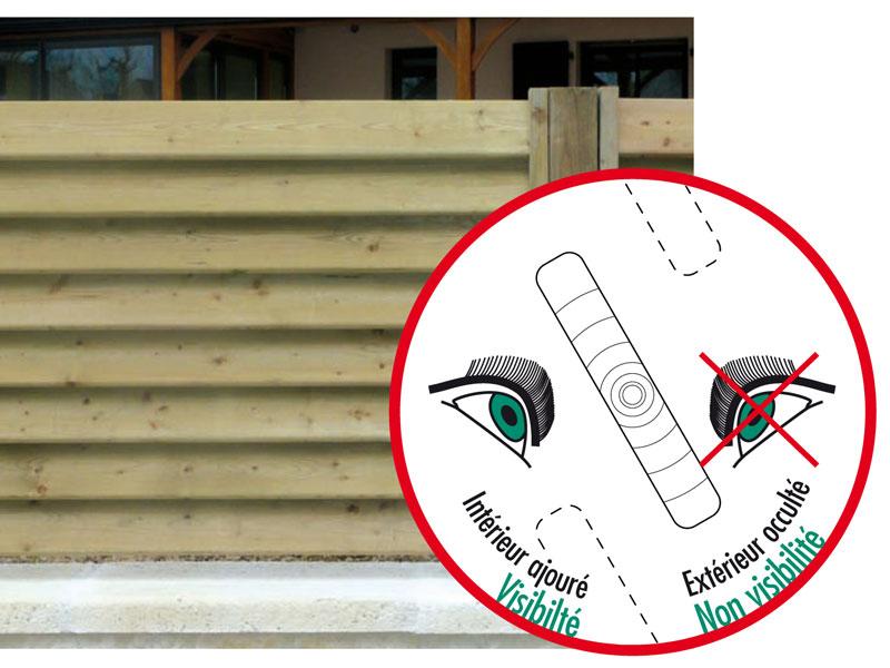 black friday cl ture bois persienne cl ture bois persienne palissade bois en kit idea. Black Bedroom Furniture Sets. Home Design Ideas